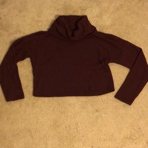 Burgundy Charlotte Russe sweater